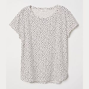 Dotted Cotton Tee